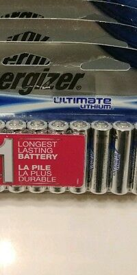 144ct AA Energizer Lithium Batteries for sale  Wylie