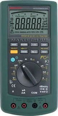 Mastech Ms8218 Pc Auto-range Multimeter True Rms Rs232