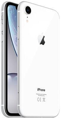 Apple iPhone XR 128GB ITALIA Bianco White LTE NUOVO Originale Smartphone iOS