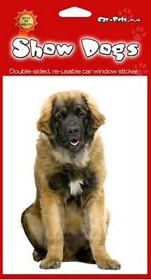 Leonberger Breed of Dog Double Sided Window Sticker