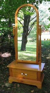 Antique & Modern Pine & Oak Window Mirrors
