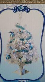 Frozen Fibre optic Christmas tree