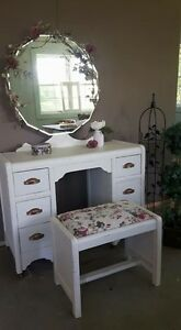 Beautiful Antique Refinished Vanity