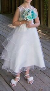 Flower girl dress size 6-8