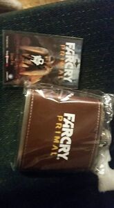 Far cry primal flask and pin collectors pieces unopened
