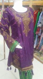 Kurti Pakistani Indian shalwar kameez Designer