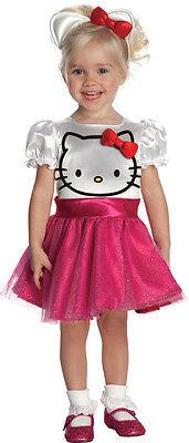 Hello Kitty Kostüm Mädchen Kinder Karneval Fasching Kleid Katze PINK , - Hello Kitty Kostüm Kinder