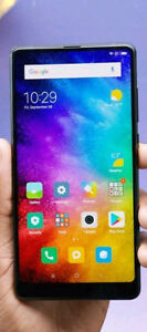 Mint xiaomi mi mix2 dual sim 6 ram 64 rom 6 in  full display