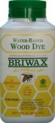 GREEN - Briwax Water-Based Wood Dye - 8 oz -  RESTORE SAFE VINTAGE ANTIQUE OLD  ()