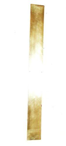 Antique Long Kick Plate Push Plate Door Narrow Brass Hardware Accessory Restored