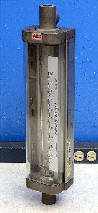 ABB 10A4557PXBKCHBX Rotameter Variable Area Flowmeter 10A4500 Series