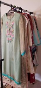 Pakistani clothes/dresses for sale .used condition 40 to70% off