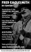 Fred Eaglesmith Traveling Show at Bruce Mines Community Hall