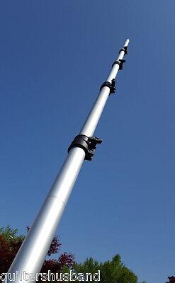 21 Foot Telescoping Aluminum Push-Up Mast For Amateur Radio, WiFi, Video - SALE!