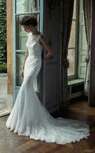 Beautiful lace wedding dress