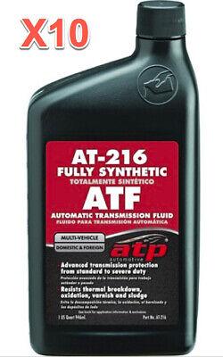 10 Quarts Automatic Transmission Fluid (ATF) ATP Synthetic Multi Vehicle