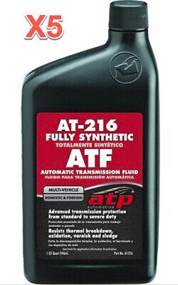 5 Quarts Automatic Transmission Fluid (ATF) ATP Synthetic Multi Vehicle