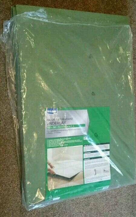 Wickes Natural Fibreboard Underlay For Laminatewood Flooring In