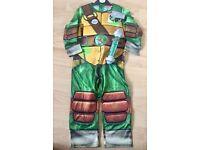 Teenage Mutant Ninja Turtles dress up outfit 3-4 years Brand New