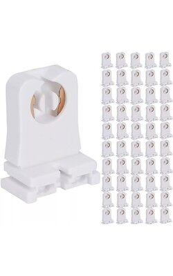 LED//FLUORESCENT T8//T12 SOCKET LIGHT END Bullet Point Single Pin Snap-On Slide-on