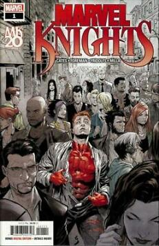 Marvel Comics- Marvel Knights 25th Anniversary # 1