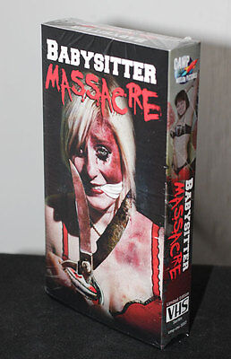 Babysitter Massacre VHS - Limited Edition VHS