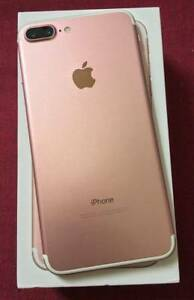 APPLE IPHONE 7  PLUS 128GB ROSE GOLD  FACTORY UNLOCK