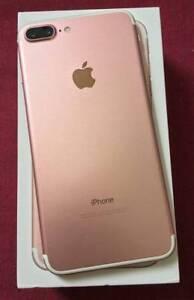 APPLE IPHONE 7  PLUS 128GB ROSE GOLD  FACTORY UNLOCK