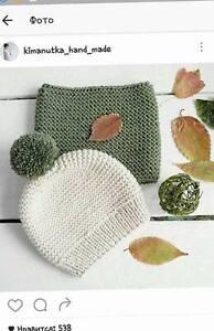 Accessoires tricotés pour les enfants et les adultes