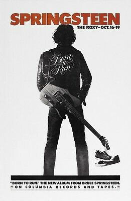 Bruce Springsteen POSTER Born To Run album Promo VINTAGE Image
