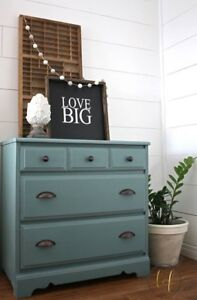 Gorgeous Turquoise Dresser