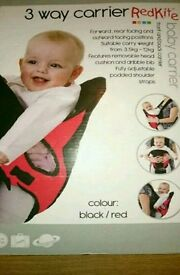Red kite baby carrier