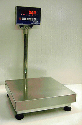 20 X 20 Bench Platform Digital Scale 400 Lbs Ntep Legal Trade