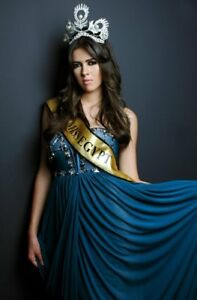 MISS UNIVERSE EGYPT Winning Haute Couture EVENING GOWN Dress