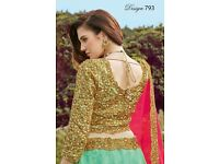 GAJIWALA REINA WHOLESALE FUNCTION WEAR SPECIAL LEHENGA CHOLI in textiledeal.in