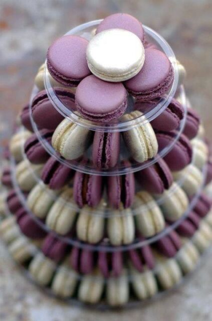 10 Tier Round Macaron Tower with acrylic stand