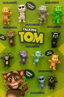 Mcdonalds 2016 Talking Tom   Pick Your Toy    Free Shipping
