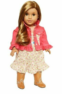 Country Cute Dress for American Girl Dolls](Cute Clothes For Girls)