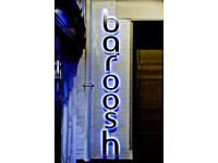 Full Time Chef - Up to £8.00 per hour - Live Out - Baroosh - Cambridge