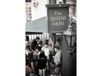 Duty Manager required for The Queens Arms