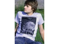 BRAND NEW WHOLESALE JOB LOT MEN'S T-SHIRT (PERFECT FOR MARKET OR RESALE / EXISTING FASHION BRAND)