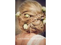 Freelance Bridal Hairstylist and Makeup Artist (20 years experience) available for your Wedding day