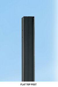 **UTP Metal Iron Garden Gate POST 2200mm Concrete-in