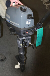 6 hp yamaha outboard 4 stroke engine manual start full for Yamaha 6hp outboard motor