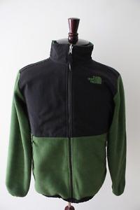 The North Face Boys XL green Denali fleece jacket