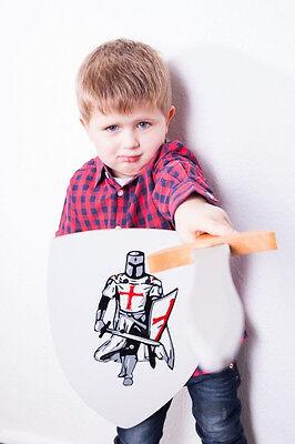 Holzschwert und Schild für Kinder **RITTER**