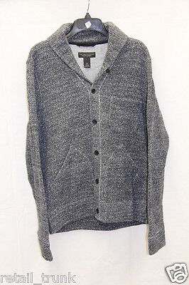 The Man's Store Bloomingdale's 5 Buttons Cardigan Grey M