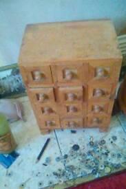 12draw mini storage box