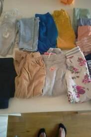 legging trousets shorts age 3-4