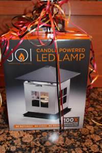 """LAMP - New """"JOI CANDLE POWERED LED LAMP"""""""
